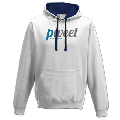 Motiv: Two-Tone Hoodie - Pweet Logo 1