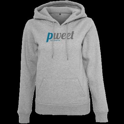 Motiv: Womens Heavy Hoody - Pweet Logo 1