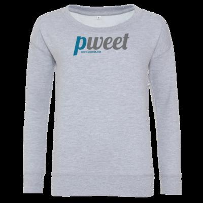 Motiv: Girlie Crew Sweatshirt - Pweet Logo 1