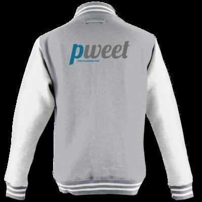 Motiv: College Jacke - Pweet Logo 1