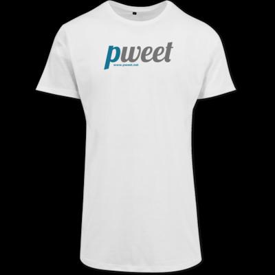 Motiv: Shaped Long Tee - Pweet Logo 1