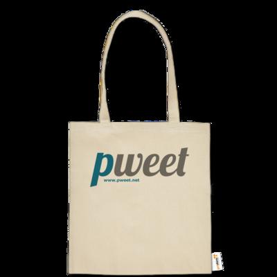 Motiv: Baumwolltasche - Pweet Logo 1