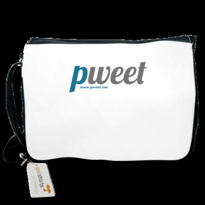 Motiv: Schultertasche - Pweet Logo 1
