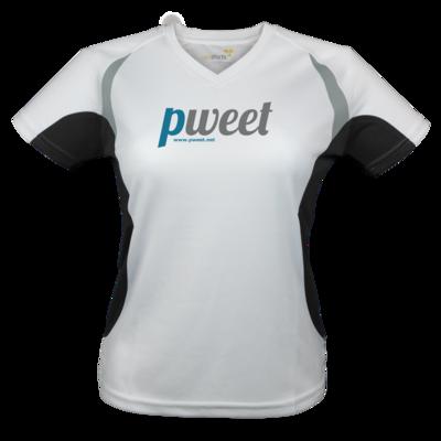 Motiv: Laufshirt Lady Running T - Pweet Logo 1