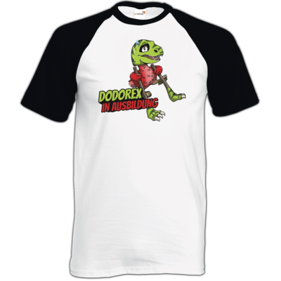 Motiv: TShirt Baseball - Dodo-Rex in Ausbildung