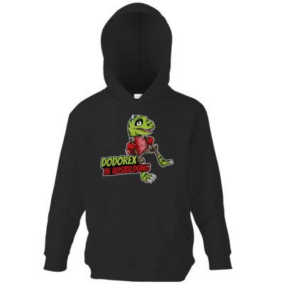 Motiv: Kids Hooded Sweat - Dodo-Rex in Ausbildung