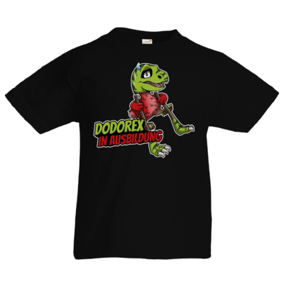 Motiv: Kids T-Shirt Premium FAIR WEAR - Dodo-Rex in Ausbildung