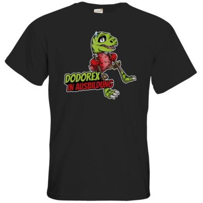 Motiv: T-Shirt Premium FAIR WEAR - Dodo-Rex in Ausbildung