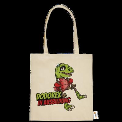 Motiv: Baumwolltasche - Dodo-Rex in Ausbildung