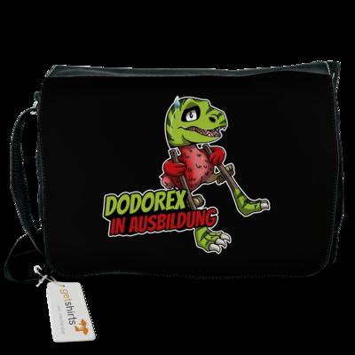 Motiv: Schultertasche - Dodo-Rex in Ausbildung