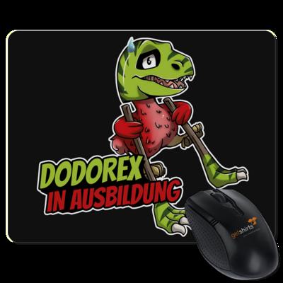 Motiv: Mousepad Textil - Dodo-Rex in Ausbildung