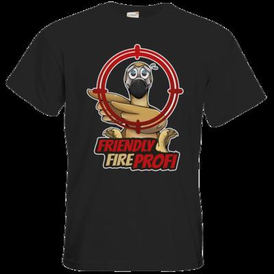 Motiv: T-Shirt Premium FAIR WEAR - Friendly Fire Profi