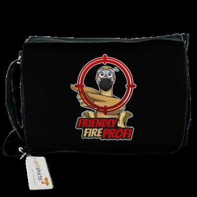 Motiv: Schultertasche - Friendly Fire Profi