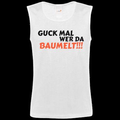 Motiv: Athletic Vest FAIR WEAR - Guck mal wer da Baumelt