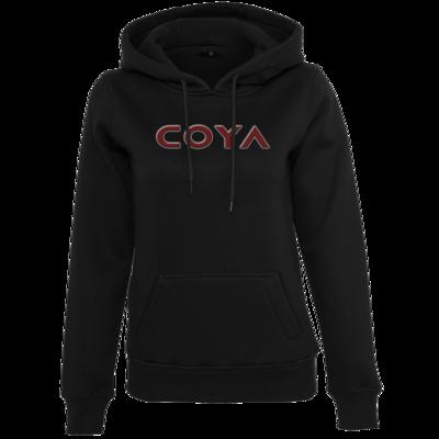 Motiv: Womens Heavy Hoody - Coya Logo