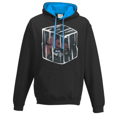 Motiv: Two-Tone Hoodie - Dodo Below Zero