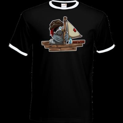 Motiv: T-Shirt Ringer - Sinkendes Niewoh