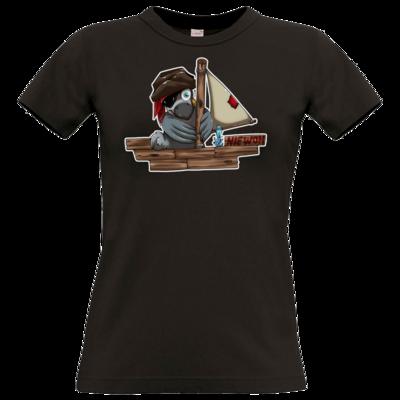 Motiv: T-Shirt Damen Premium FAIR WEAR - Sinkendes Niewoh