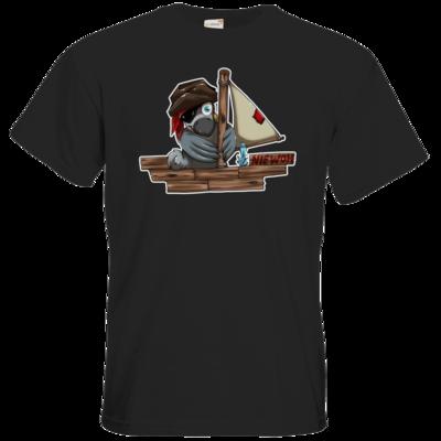Motiv: T-Shirt Premium FAIR WEAR - Sinkendes Niewoh