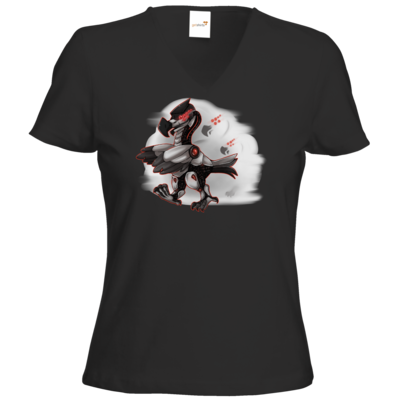 Motiv: T-Shirt Damen V-Neck Classic - Dodo-Bots