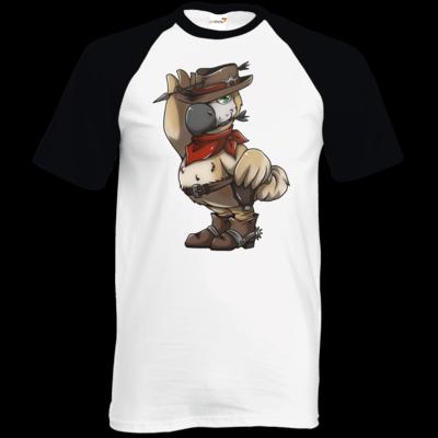 Motiv: TShirt Baseball - Wild West Dodo