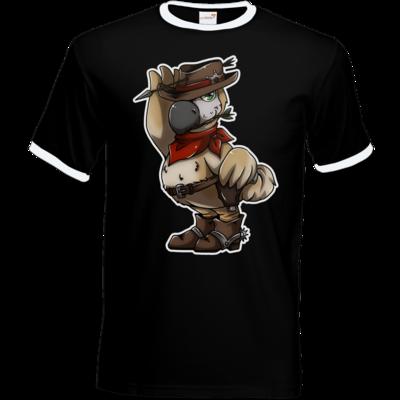 Motiv: T-Shirt Ringer - Wild West Dodo