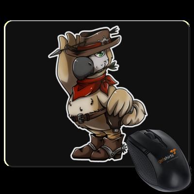 Motiv: Mousepad Textil - Wild West Dodo