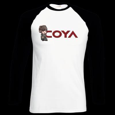 Motiv: Longsleeve Baseball T - Coya-Logo