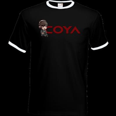 Motiv: T-Shirt Ringer - Coya-Logo