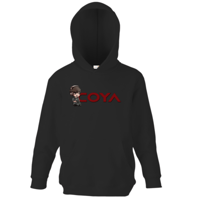 Motiv: Kids Hooded Sweat - Coya-Logo