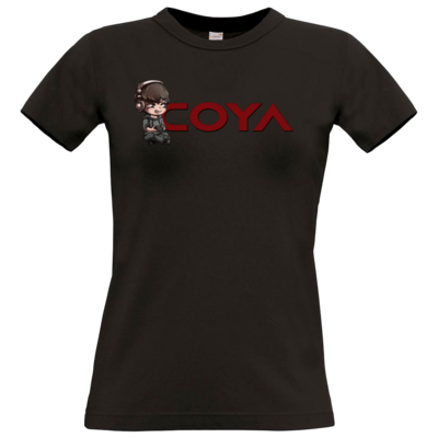 Motiv: T-Shirt Damen Premium FAIR WEAR - Coya-Logo