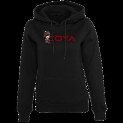 Motiv: Womens Heavy Hoody - Coya-Logo