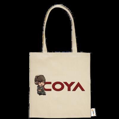 Motiv: Baumwolltasche - Coya-Logo