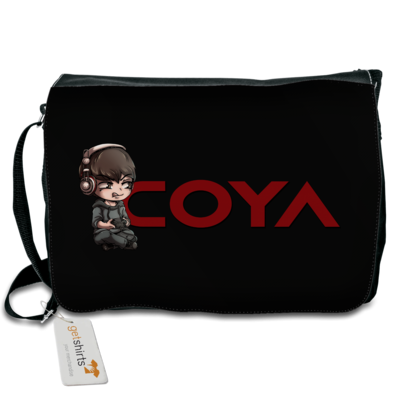 Motiv: Schultertasche - Coya-Logo