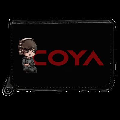 Motiv: Geldboerse - Coya-Logo