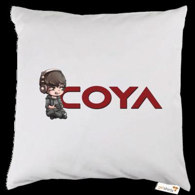 Motiv: Kissen - Coya-Logo