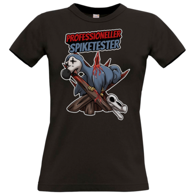 Motiv: T-Shirt Damen Premium FAIR WEAR - Spike-Tester