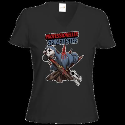 Motiv: T-Shirt Damen V-Neck Classic - Spike-Tester