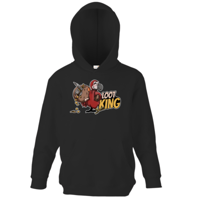 Motiv: Kids Hooded Sweat - Loot-King