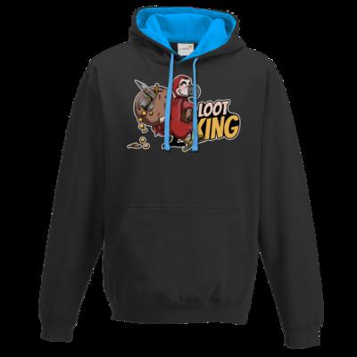 Motiv: Two-Tone Hoodie - Loot-King