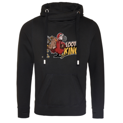 Motiv: Cross Neck Hoodie - Loot-King