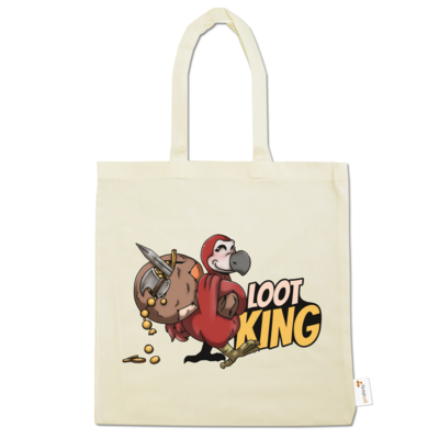 Motiv: Baumwolltasche - Loot-King
