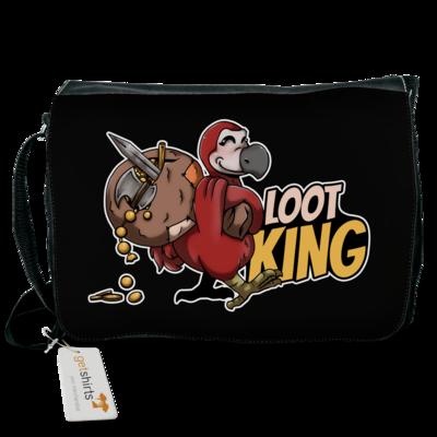 Motiv: Schultertasche - Loot-King