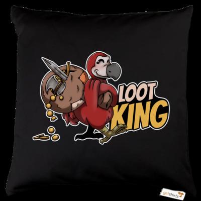 Motiv: Kissen Baumwolle - Loot-King