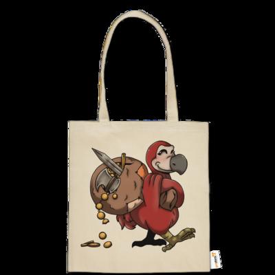 Motiv: Baumwolltasche - Loot-Dodo