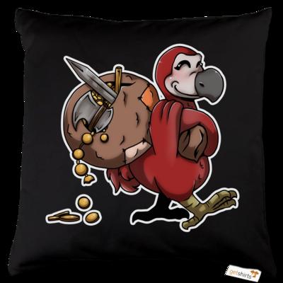 Motiv: Kissen Baumwolle - Loot-Dodo