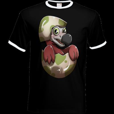 Motiv: T-Shirt Ringer - Dodo-Küken