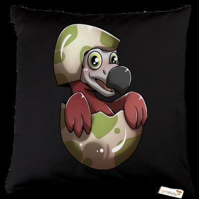 Motiv: Kissen Baumwolle - Dodo-Küken