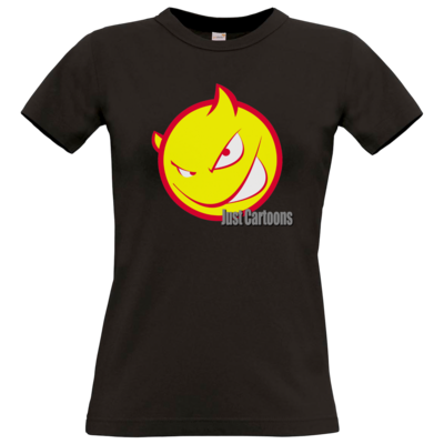 Motiv: T-Shirt Damen Premium FAIR WEAR - Soccerdevil