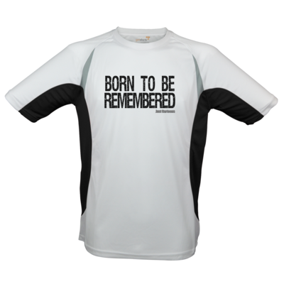 Motiv: Laufshirt Running T - Born to be remembered